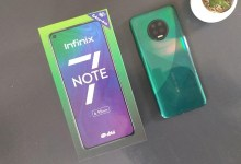 Infinix Note 7 Unboxing