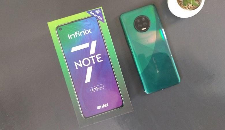 Infinix Note 7 Unboxing
