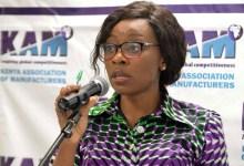 Phyllis Wakiaga,Kenya Association of Manufacturers