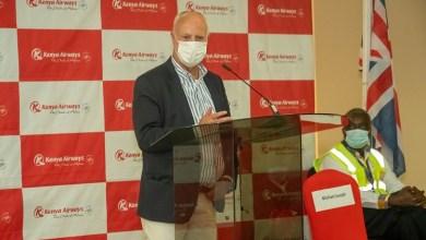 Kenya Airways Resumes-Flights