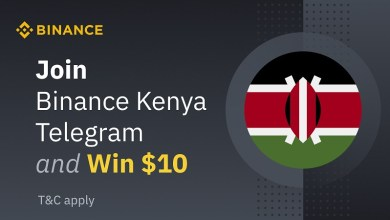 Photo of Join the Official Binance Kenya Telegram Group and Stand a Chance to Win $10 in BNB