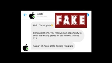 "Photo of SMS phishing scam pretends to be Apple ""chatbot"" – don't fall for it!"