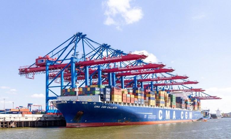 CMA CGM container ship