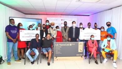LG #NanoNiNoma competition awards ceremony
