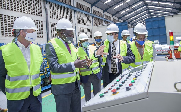 Mabati Rolling Mills launches SAFBUILD Manufacturing Plant in Athi River