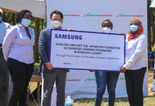 Samsung M.D and Safaricom Foundation chairman
