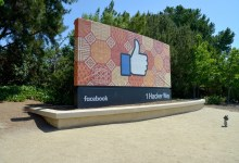 Facebook headquarters in Menlo Park, CA.