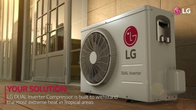 LG DUAL Inverter Compressor