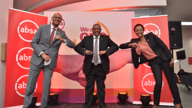 Absa executives at the launch of We are One Programme