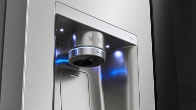 LG's UVnano technology harnesses the power of light to effortlessly and effectively maintain a hygienic and germ-free water dispenser tap.
