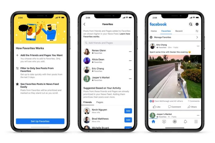 News Feed content customisation