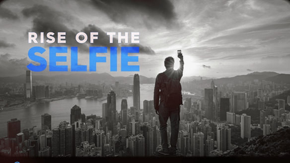 Rise of the selfie documentary poster