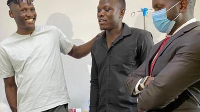 Olunga and Odibets clear Patrick Matasi 's Sh429,000 hospital bill