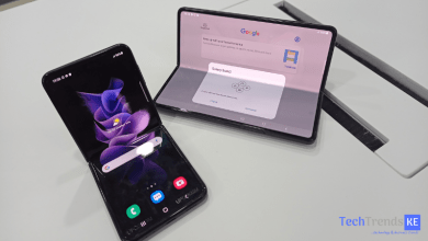Galaxy Z Flip 3.and Galaxy Z Fold 3.