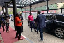 Odibets gifts Ferdinand Omanyala brand new car