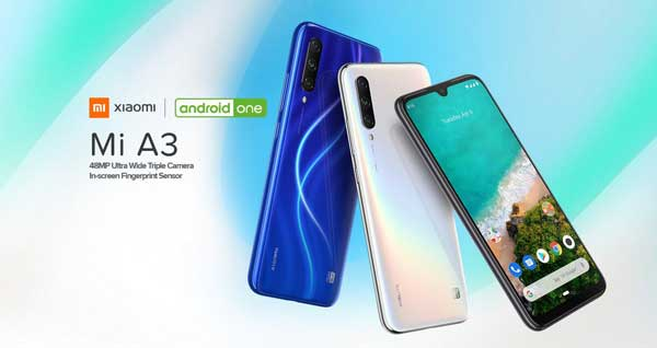 Xiaomi Mi A3 Features Specification And Wallpaper Download
