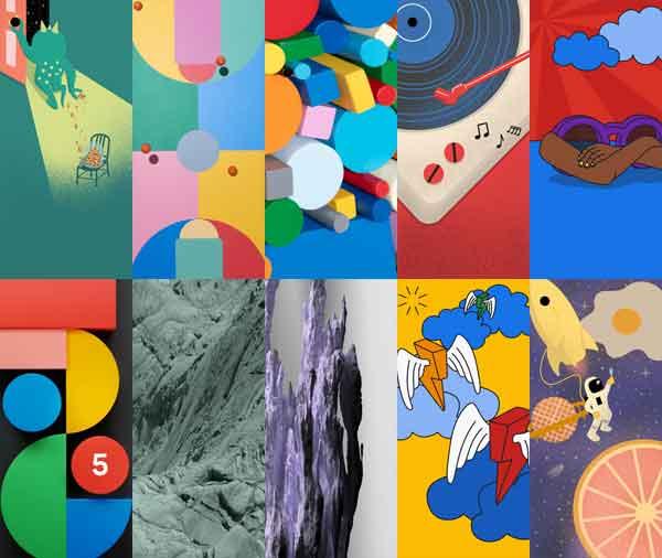 Google Pixel 5: Specs, Features and Wallpapers Download ...