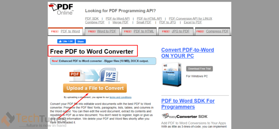 how to convert pdf file to word excel