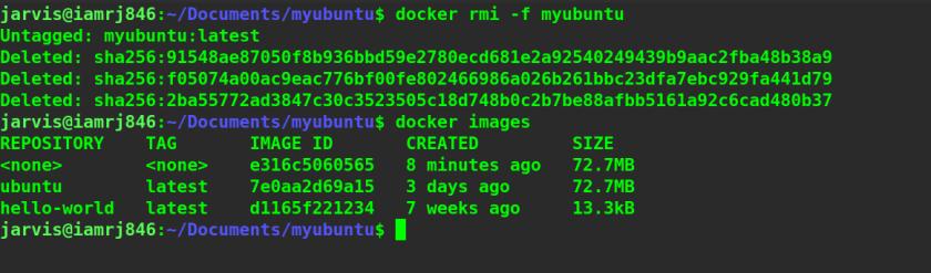 Docker Image Remove