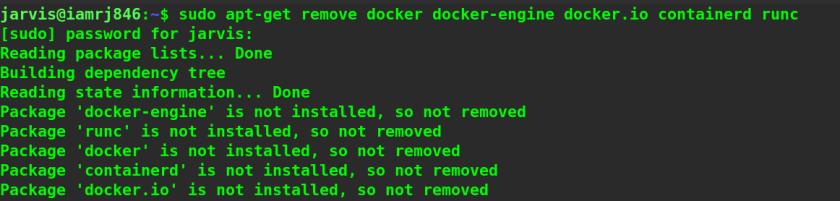 Uninstall Docker from Ubuntu