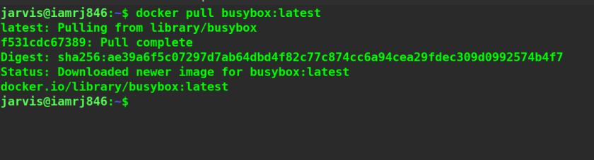 Pull Docker images using Docker Pull Command
