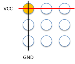 Working LED Matrix