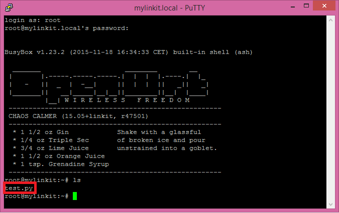 linkit-smart-ls-command