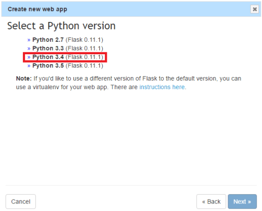 Python anywhere: Deploying a Flask server on the cloud