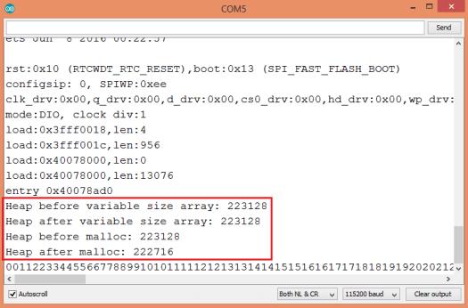 ESP32 Arduino C variable Length array.png