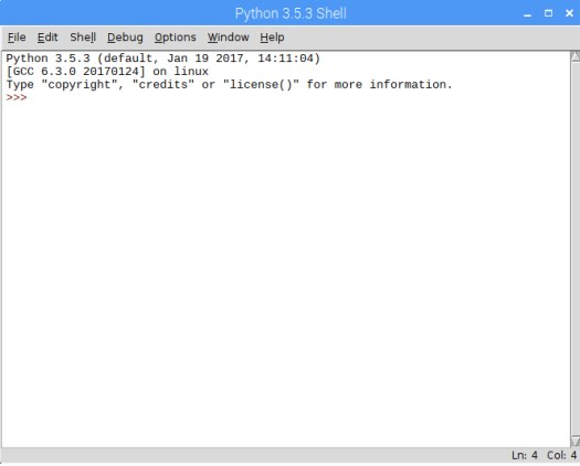 RPI 3 Python IDLE.png