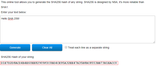 ESP32 Arduino mbed TLS: using the SHA-256 algorithm