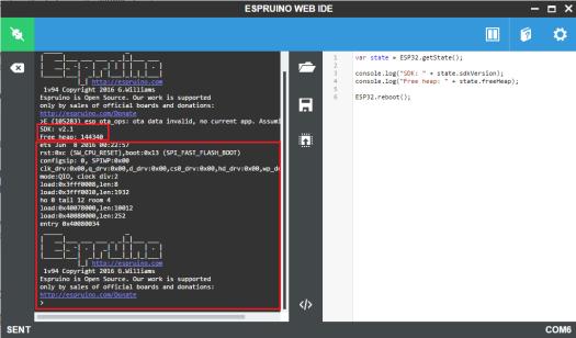 ESP32 Espruino software reset sdk version and free heap.png