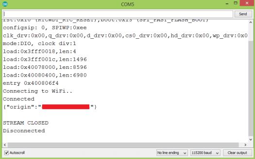 ESP32 HTTP/2 request using the Arduino core