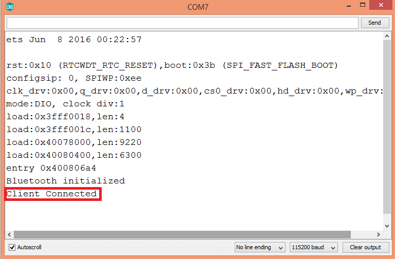 Detecting SPP serial client connection event on the ESP32, using the Arduino core