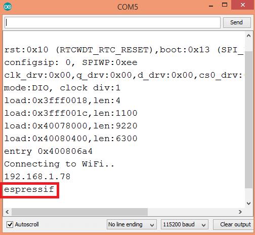 ESP32 Arduino: Getting station interface hostname – techtutorialsx