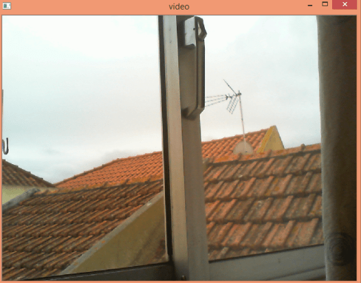 Capturing frames from a webcam using Python and OpenCV