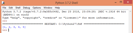 "Concatenating two lists in Python with the ""+"" operator."