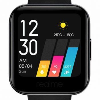 ساعة ريلمي ذكية مع قياس نسبة الأوكسيجين في...