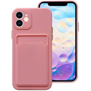 Soft Silicone Wallet Phone Case For...