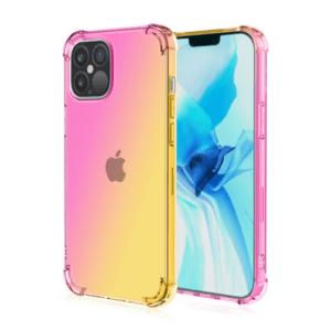 جراب Qi Yang Two Gradient Color Transparent أيفون...