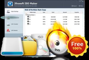 Download Jihosoft ISO Maker Free