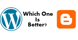 wordpress Vs blogger which one is better