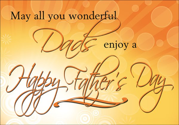 Happy Father's Day, Celebrating Dads