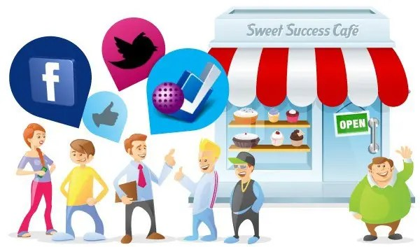 local business and social media