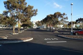 Parkplätze sind das prägende Element der meisten Tech-Campusse im Silicon Valley