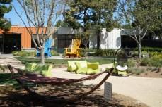 Leere Spielwelten auf dem Google Campus