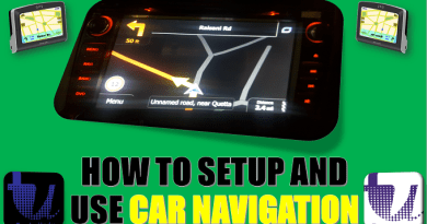 HOW TO SETUP AND USE CAR NAVIGATION SYSTEM | TOYOTA NAVIGATION SYSTEM | ALTIS NAVIGATION[Urdu/Hindi] 2