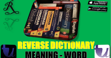 REVERSE DICTIONARY - SEARCH WORDS FROM MEANING | REVERSE DICTIONARY FOR ANDROID AND IOS [Urdu/Hindi] 2