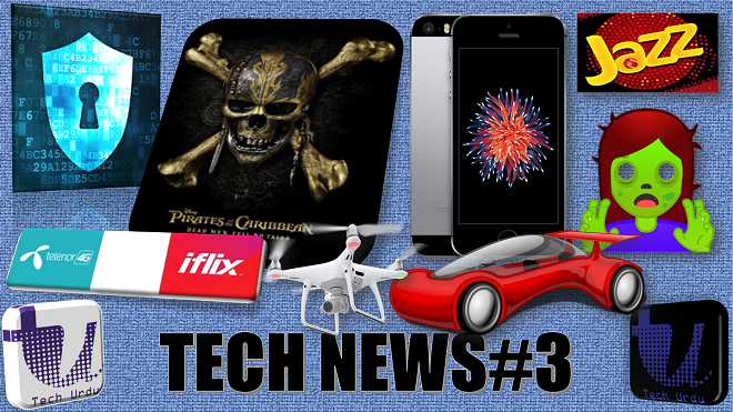 Tech News#3: Android O Emoji, Google Assistant in iPhone, 560 million passwords, Flying Cars Olympic 1