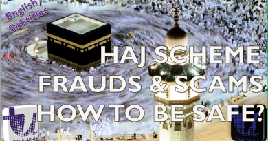 ? HAJJ FRAUDS AND SCAMS - KNOW THE REALITY | HOW TO IDENTIFY A HAJJ SCHEME IS FAKE OR REAL[Urdu/Hindi 1